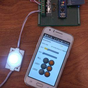 [DIY] Tự làm hệ thống đèn điều khiển bằng smartphone